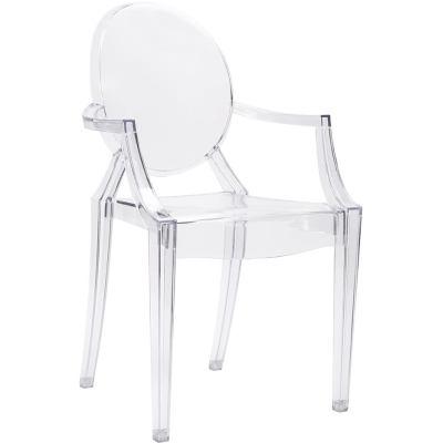 Krzesła przeźroczyste